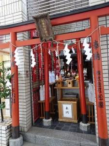 朝日稲荷神社 銀座八丁神社めぐり