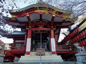 市谷亀岡八幡宮 茶ノ木稲荷神社