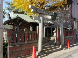 於咲浪除稲荷神社