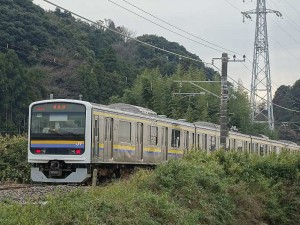鹿島線 普通列車