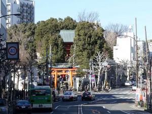 早稲田 穴八幡宮
