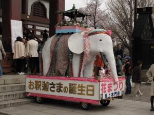 本門寺 花祭り