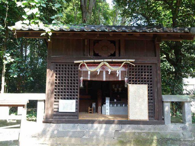 咲前神社 絹笠神社