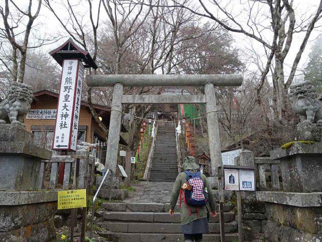 熊野神社 碓氷峠